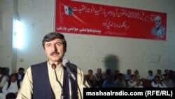 د پښتونخوا ملي عوامي ګوند صوبايي مشر سېنېټر عثمان خان کاکړ