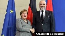 Германската канцеларка Ангела Меркел и албанскиот премиер Еди Рама