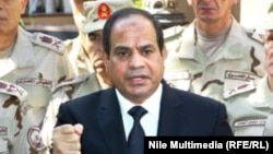 Египет президенті Әбдел Фаттах әл-Сиси.