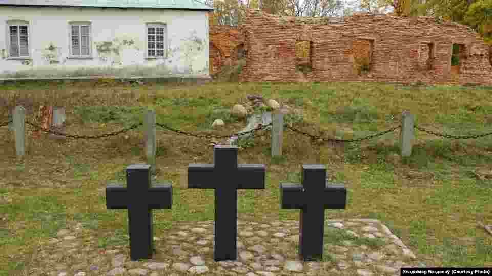 Belarus - What happened to burial palces of soldiers of the First World War, file photo of Uladzimir Bahdanau, undated