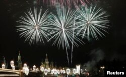 Святкування Нового року у Москві