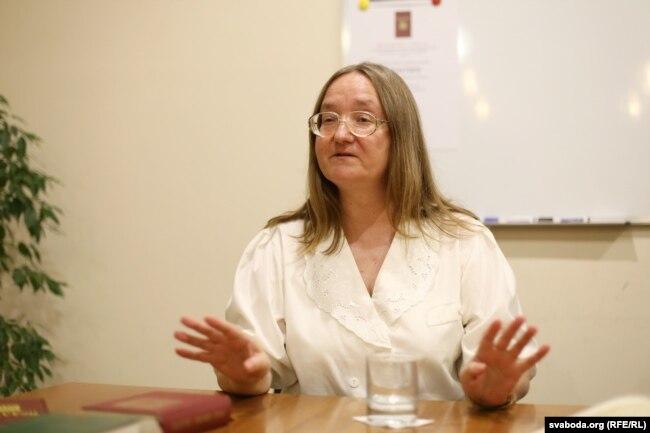 Доктор богослов'я Ірина Дуб'янецька