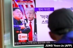 Дональд Трамп і Кім Чэн Ын — героі навінаў у Паўночнай Карэі