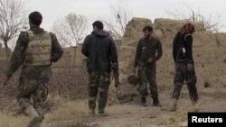 Силы безопасности Афганистана в провинции Гильменд. Иллюстративное фото.