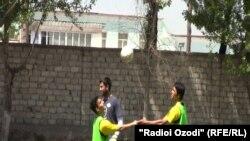 Тамрини мунтахаби футболи Афғонистон дар Душанбе