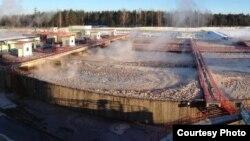 Ачышчальныя збудаваньні заводу сульфатнай беленай цэлюлёзы, 19 студзеня