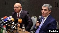 Хачатур Кокобелян и Арам Саргсян