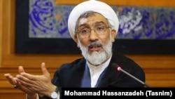 Iranian Justice Minister Mostafa Pourmohammadi (file photo)