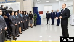 İlham Əliyev 1 saylı «ASAN kommunal» Mərkəzinin açılışında