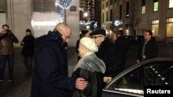 Возз'єднання родини Ходорковських, Берлін, 21 грудня 2013 року