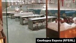 Չինաստան - Դատարկ ռեստորան Պեկինում, փետրվար, 2020թ.