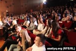 Еуропадағы қазақ студенттері. (Көрнекі сурет)