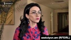 вице-спикер Национального собрания Армении Арпине Ованнисян (архив)