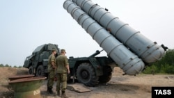 The S-300 is a Russian long range surface-to-air missile system. (file photo)
