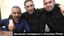 Rustem Emiruseinov, Arsen Abhairov ve Eskender Abdulganiyev