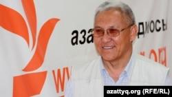 Нияз Тобыш, Иран - Ирак соғысына қатысушы. Алматы, 27 маусым 2012 жыл.