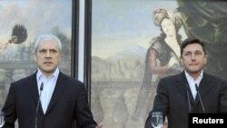 Borut Pahor i Boris Tadić u Ptuju početkom marta