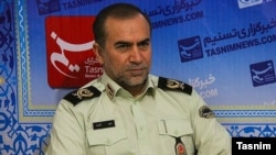 Head of police in Kurdistan province, IRGC general Ali Azadi, undated.