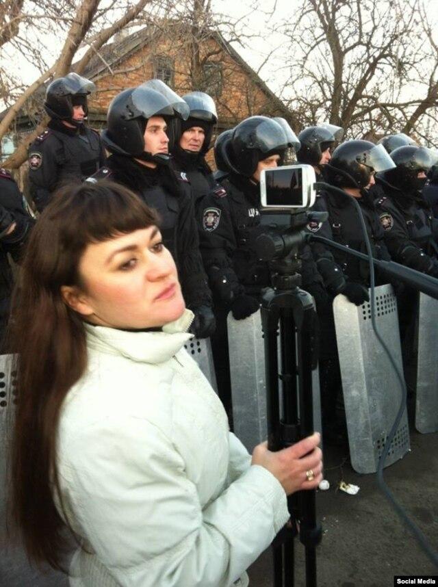 Ирма Крат на Майдане