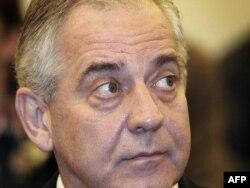 Ivo Sanader u sudnici 3. studenog 2011.