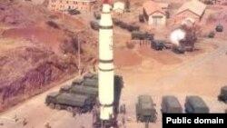 موشک دانگ فنگ -۳ متعلق به ارتش چین