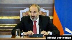 Премьер-министр Армении Никол Пашинян, Ереван, 22 мая 2019 г.