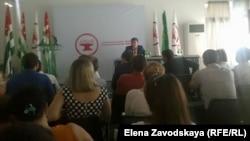 Среди народившихся в последние год-два новых политических сил в Абхазии самая обратившая на себя внимание общества и громкая – это партия «Айнар»