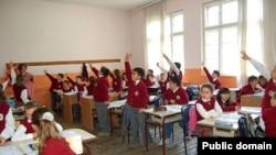 Pamje nga një shkollë në Prishtinë