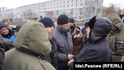 Задержание Марселя Шамсутдинова. 26 марта 2017 года