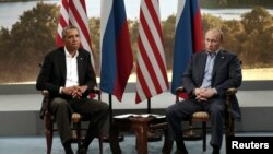 Barack Obama dhe Vladimir Putin