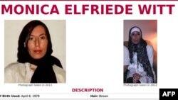 Monica Elfriede Witt-in FTB saytındakı şəkli
