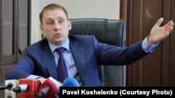 И.о. губернатора Амурской области Александр Козлов в 2014 г.