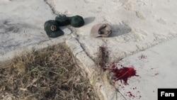 "Militant ""terror"" attack in NIkshahr in the mainly Sunni province of Sistan-Baluchestan."