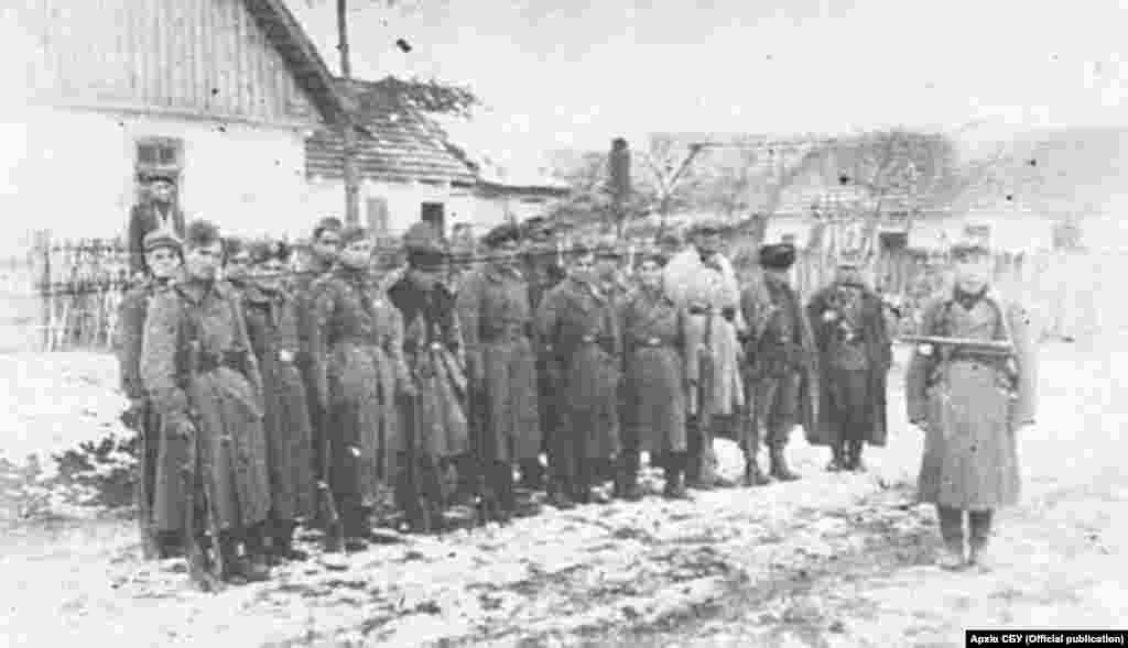 Національний узбецький відділ при УПА-Північ. 1943 рік