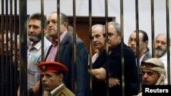Засуджені в Лівії українці, білоруси й росіянин на суді у Тріполі, архівне фото