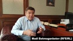 Министр общественного развития Казахстана Дархан Калетаев.