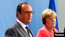Angela Merkel dhe Francois Hollande
