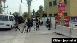 Fars ostanındakı Mamasani şəhərinə xüsusi qüvvələr yeridilib