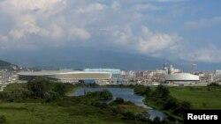 Олімпійський парк у Сочі, фото 20 серпня 2013 року
