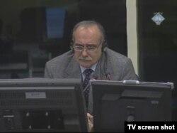 Ljubomir Obradović u sudnici, 24.veljače 2012.