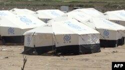 مخيم للنازحين من الأنبار
