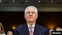 رکس تیلرسون، نامزد پیشنهادی دونالد ترامپ برای تصدی مقام وزارت امور خارجه آمریکا.