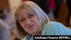 Fosta ministră a Justiției în Bulgaria, Țețka Țaceva
