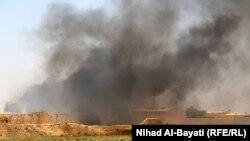Ирактың батыс аймағында болған жарылыс. (Көрнекі сурет)