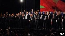 Митинг на здружената опозиција, обединета во Сојуз за иднината на Македонија.