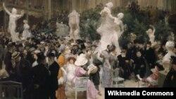Жуль-Аляксандр Грун, «Пятніца ў Салёне францускіх мастакоў» (1911)