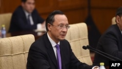 Kazakh Foreign Minister Kairat Abdrakhmanov hardly put China's feet to the fire.