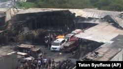 Požar u tvornici pirotehnike u pregrađu Džakarte