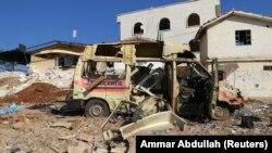 شهر اتارب، در کنترل شورشیان سوری، پس از حملات هوایی