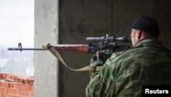 Ukraynada rus snayperi